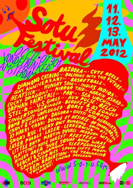 Schedule SOTU festival