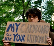 My Cardboard can beat your Billboard